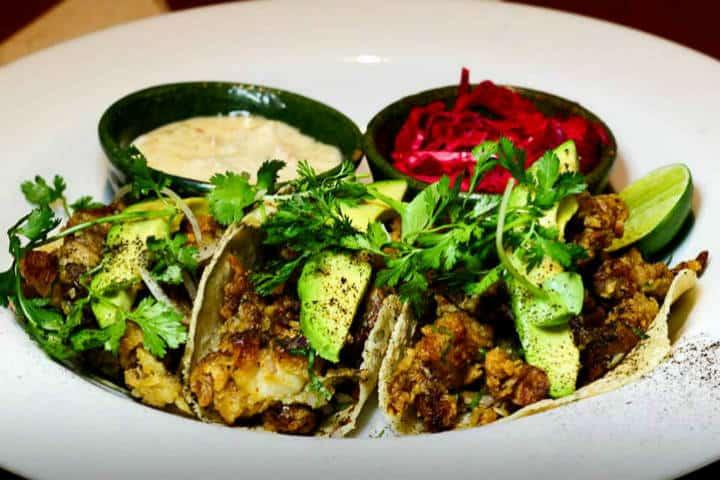 Comida Yucateca Apoala Tacos de Cangrejo