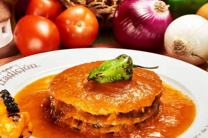 Comida Yucateca La Tradición Pan de Cazón