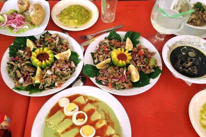 Comida Yucateca Platillos Foto Mesón Yucateco
