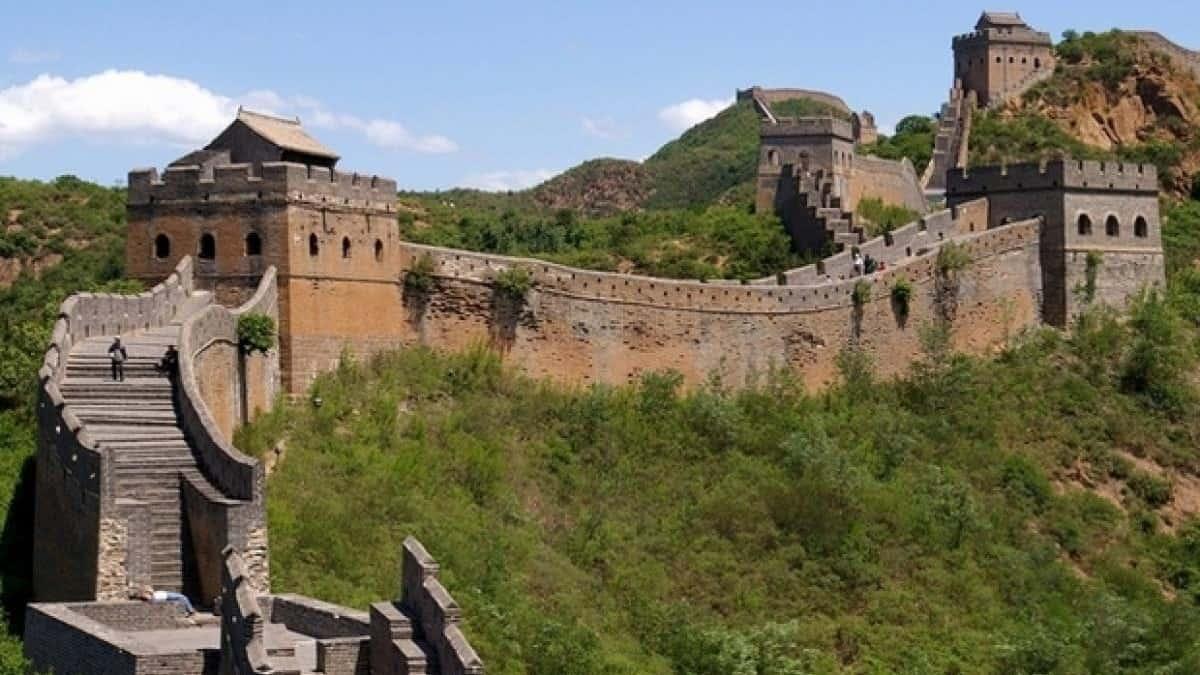 AirBnb en la gran muralla China port