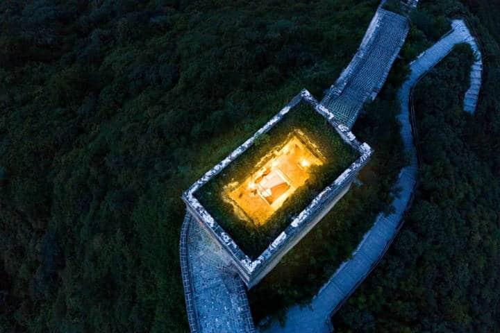 Airbnb en la Gran Muralla China Foto Airbnb 2