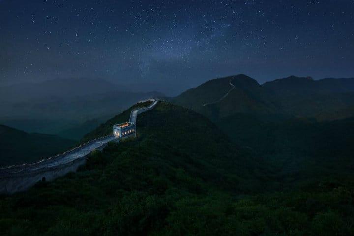 Airbnb en la Gran Muralla China Foto Airbnb 3