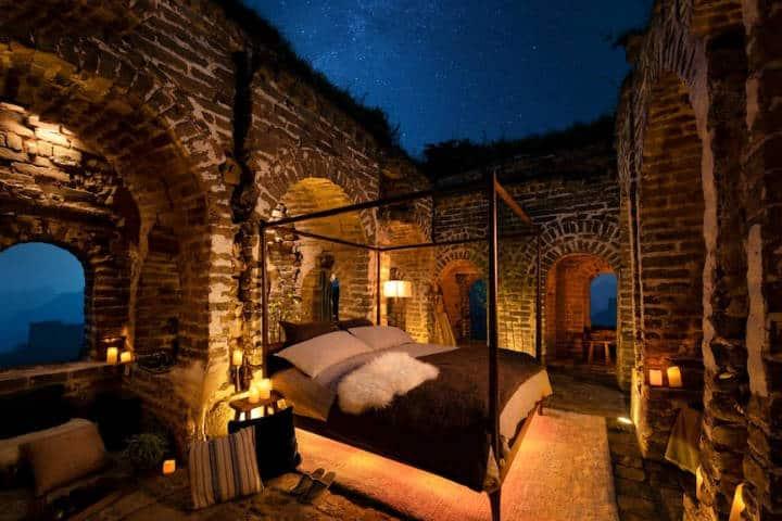 Airbnb en la Gran Muralla China Foto Airbnb 5