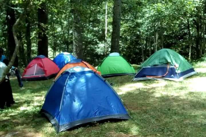 Campamento cerca CDMX Apulco Foto Ruth Molina 2