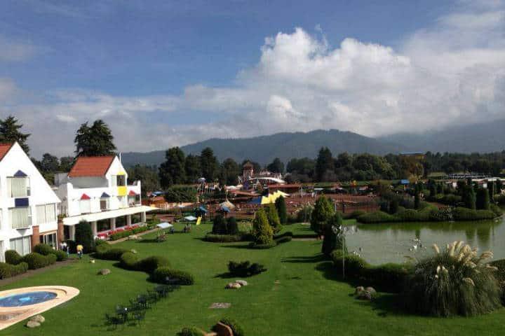 Campamento cerca CDMX Foto Hacienda Panoaya