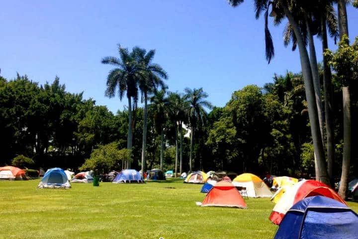 Campamento cerca CDMX Foto Las Estacas 1