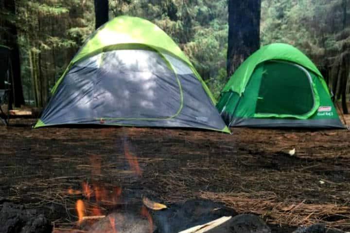 Campamento cerca CDMX Foto Parque Ejidal San Nicolás Totoloapan 4