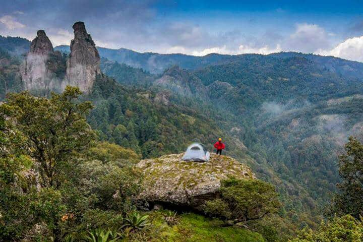 Campamento cerca CDMX Foto Parque Nacional El Chico 2