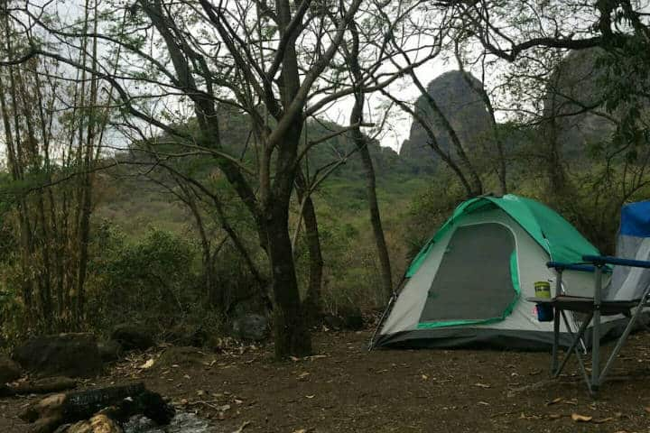 Campamento cerca CDMX Tepoztlan Foto Aribnb 2