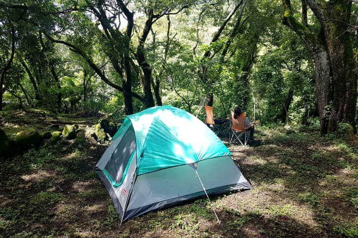 Campamento cerca CDMX Tepoztlan Foto Aribnb
