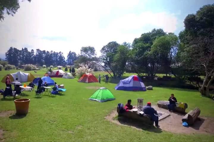 Campamentos cerca CDMX Foto Panoaya 2