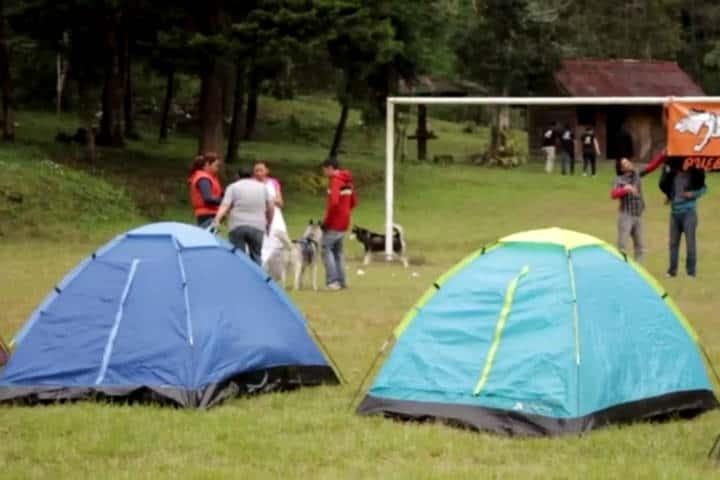 Campamentos cerca CDMX. Foto Apulco