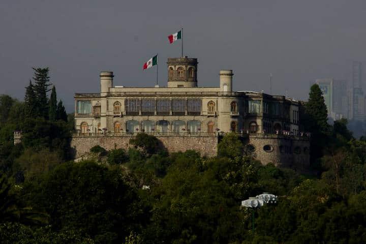 Castillo de Chapultepec. Foto Lion