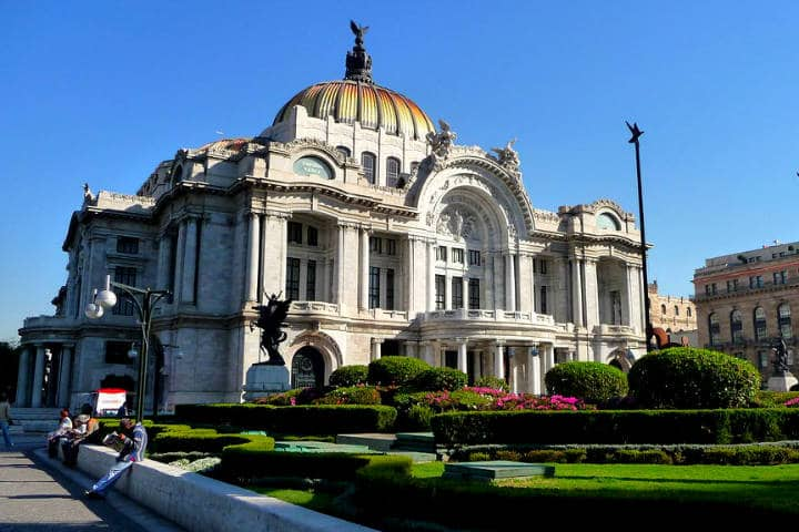 Construcciones lujosas en México Palacio de Bellas Artes CDMX Foto Carlos Alvarez C