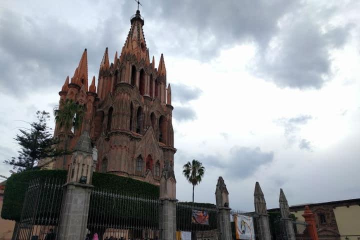 Construcciones lujosas en México San Miguel de Allende Foto El Souvenir