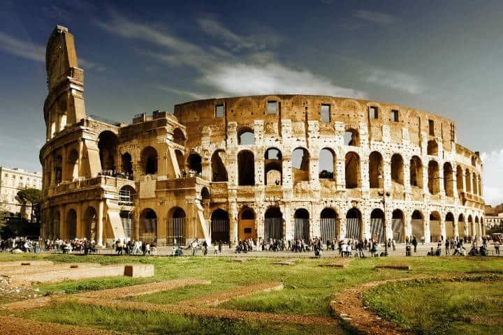 Crucero alrededor del mundo Coliseo Roma Foto Irene Souto