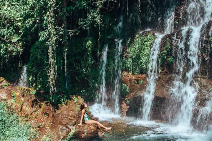 De Guatemala al El Salvador Chorros de la Calera Foto Smile El Salvador Travel