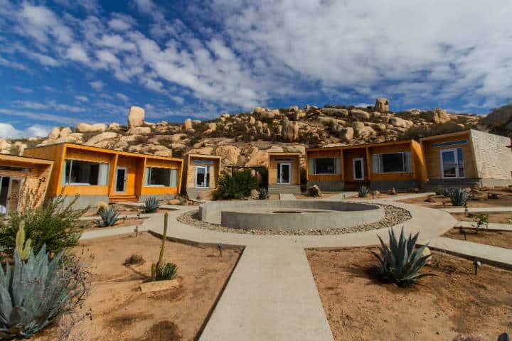 Hoteles del Valle de Guadalupe Foto Oeno Wine Resort 3