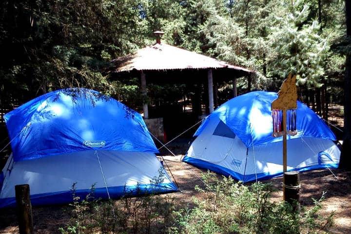 Lugares para acampar CDMX Foto Kinich Ahau