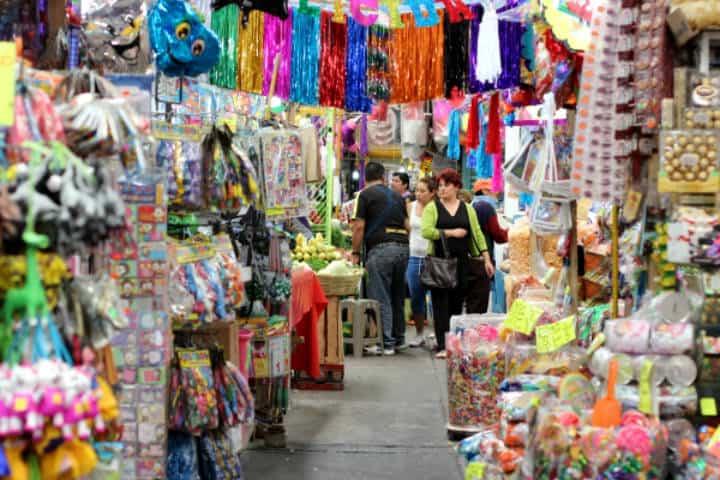 Mercado de la Merced Foto Walking M