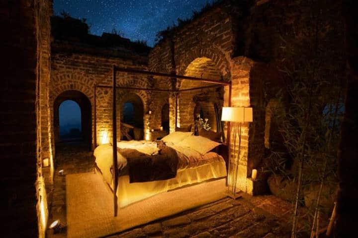 Airbnb en la Gran Muralla China. Foto Airbnb 1