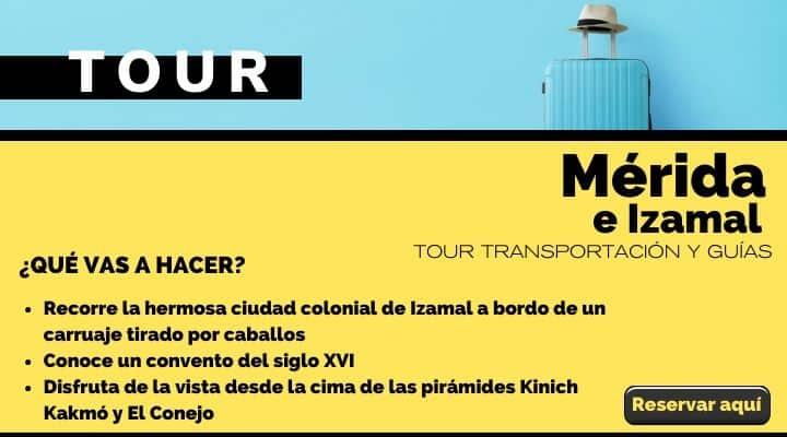 Tour Mérida e Izamal. Arte El Souven