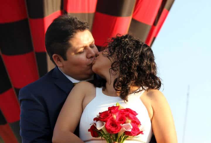 Casarse Vuelo en Globo para dos Foto Viridiana V Skyballoons 1