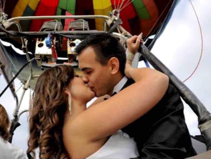 Casarse Vuelo en Globo para dos Foto Viridiana V Skyballoons 12