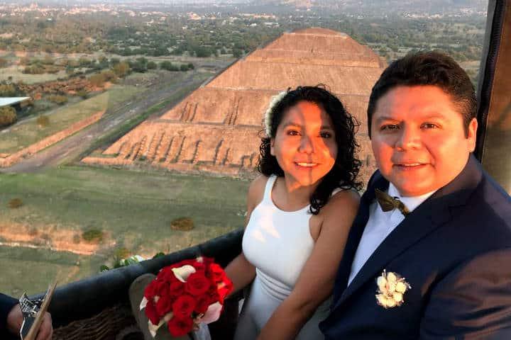 Casarse Vuelo en Globo para dos Foto Viridiana V Skyballoons 14
