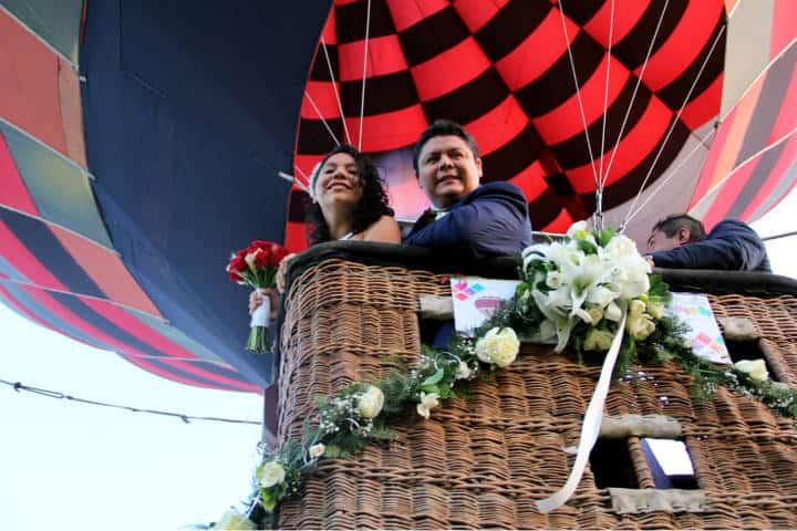 Casarse Vuelo en Globo para dos Foto Viridiana V Skyballoons 15