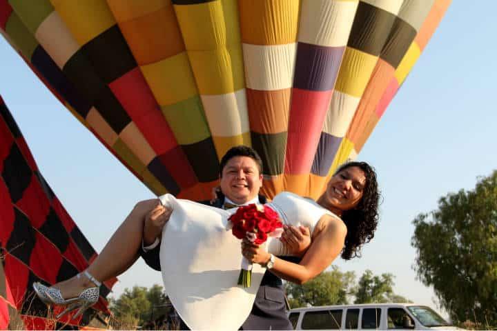 Casarse Vuelo en Globo para dos Foto Viridiana V Skyballoons 17