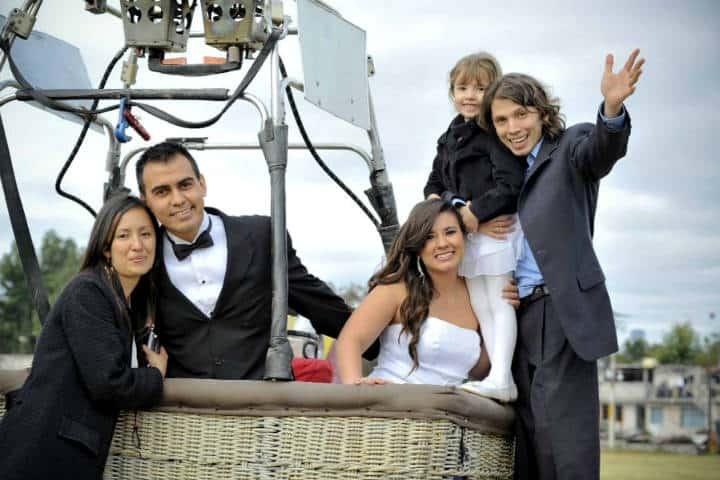 Casarse Vuelo en Globo para dos Foto Viridiana V Skyballoons 3