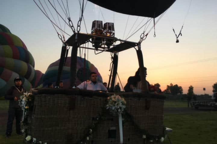 Casarse Vuelo en Globo para dos Foto Viridiana V Skyballoons 5