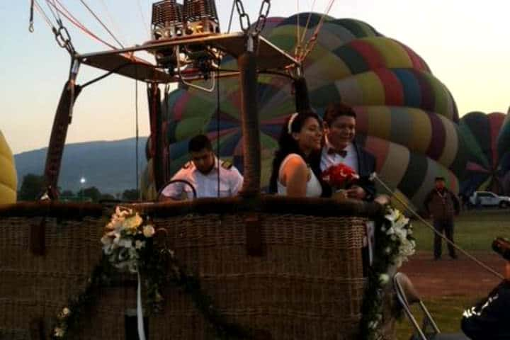 Casarse Vuelo en Globo para dos Foto Viridiana V Skyballoons 6