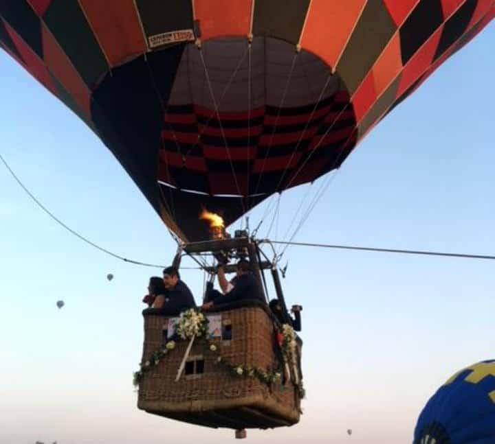 Casarse Vuelo en Globo para dos Foto Viridiana V Skyballoons 7