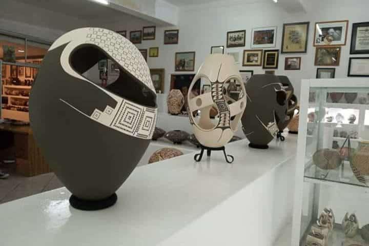 Galería Cerámica Mata Ortiz. Foto Jalas o te Rajas.