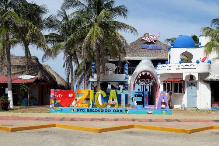 Playa Zicatela Oaxaca Foto Daniel Lobo