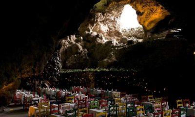 Restaurante la gruta en Teotihuacán