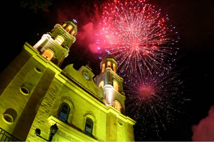 Sinaloa Catedral Foto Arriba Culiacán