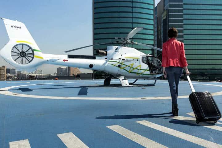 Taxis aéreos en la CDMX Foto Voom México 4