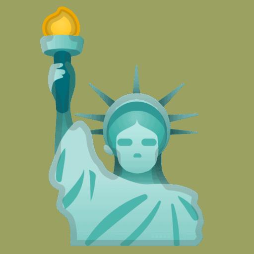 estatua de la libertad emoji