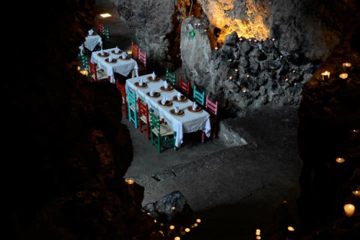 restaurante la gruta teotihuacan