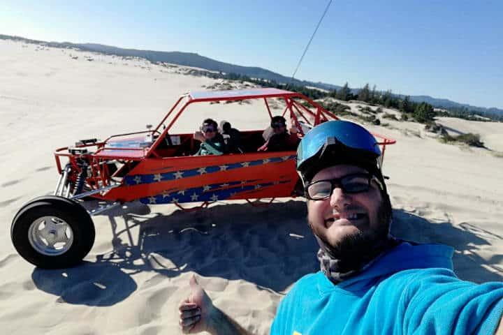Dunas de arena en Oregón 24