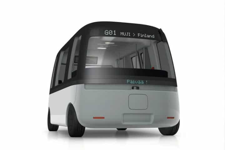 autobus robotaxi