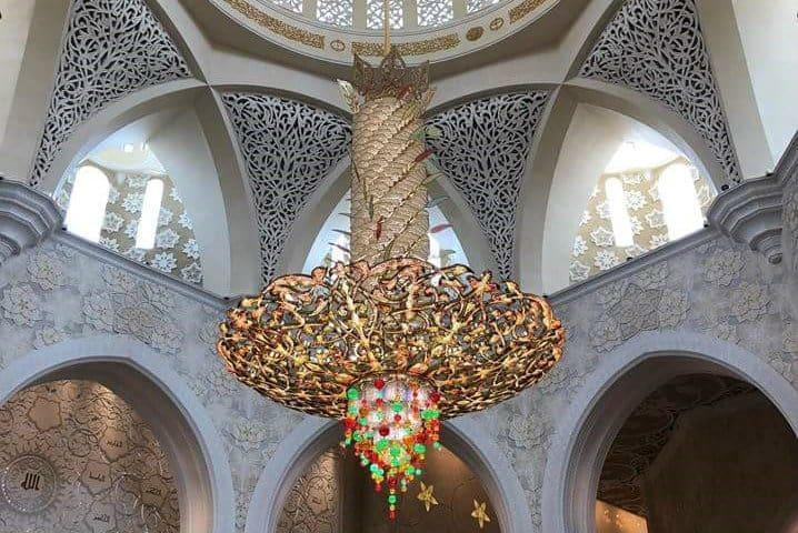 lampara mezquita