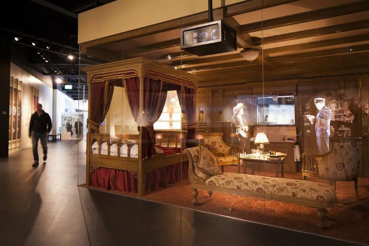 museo del titanic salas