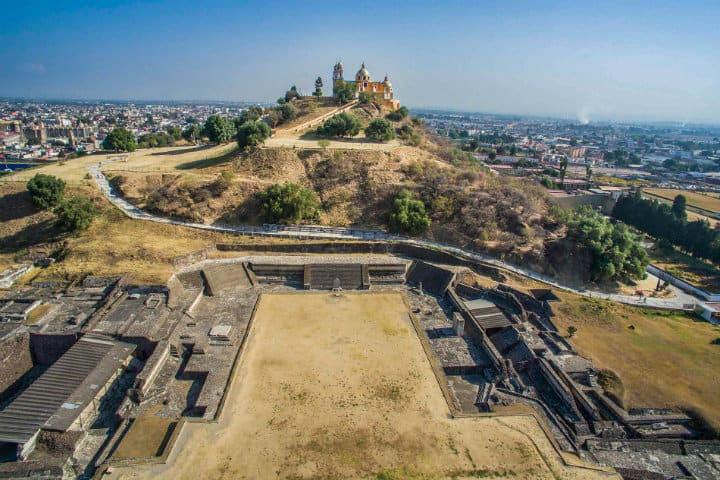 zona arqueologica cholula
