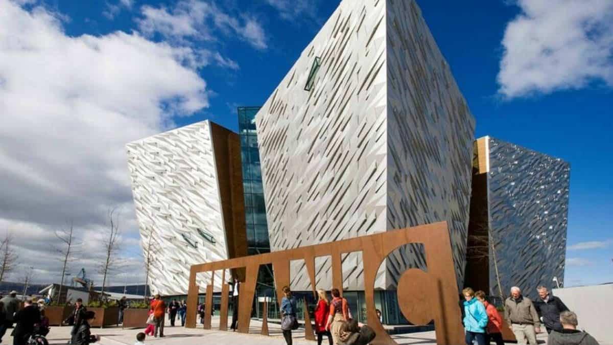 Museo del Titanic en Belfast. Imagen: Irlanda. Archivo