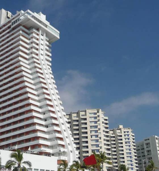 Hotel Hotsson. Imagen: Acapulco. Archivo