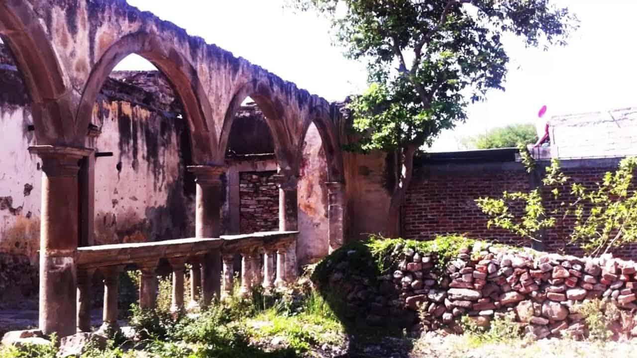 Haciendas en Salamanca Guanajuato. San Jose de Mendoza. Foto: A patín por México